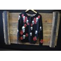 Banned Skull & Flower Cardigan