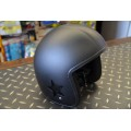 Bandit Helmet - Matt Black With Stars